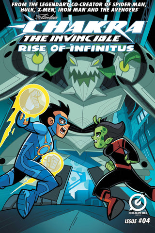 Chakra The Invincible: Rise Of Infinitus #4