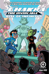 Chakra The Invincible: Rise Of Infinitus #5