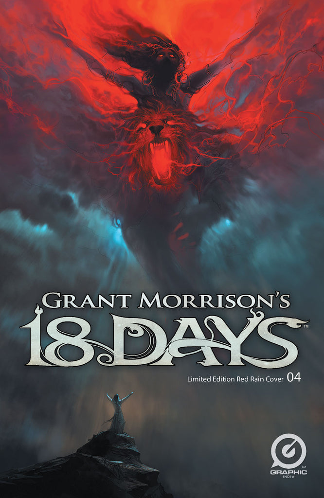 "Grant Morrison's 18 Days #4 - Limited ""Red Rain"" Variant"