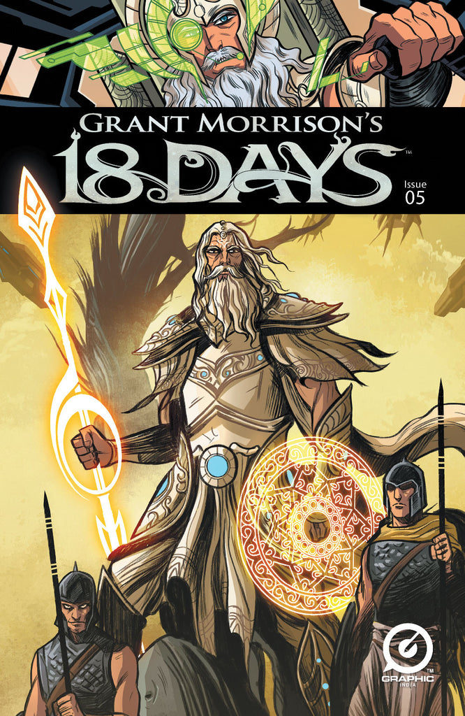 Grant Morrison's 18 Days #5 - Cover A - Jeevan Kang