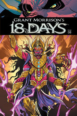 Grant Morrison's 18 Days #8 Cover A - Jeevan Kang