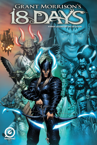 GRANT MORRISON'S 18 DAYS – KARNA: LEGEND OF THE SIXTH SON - MAIN