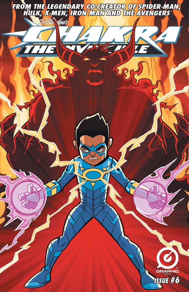 Stan Lee's Chakra the Invincible #6