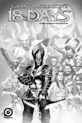 GRANT MORRISON'S 18 DAYS – KARNA: LEGEND OF THE SIXTH SON – LIMITED EDITION PENCIL SKETCH COVER B