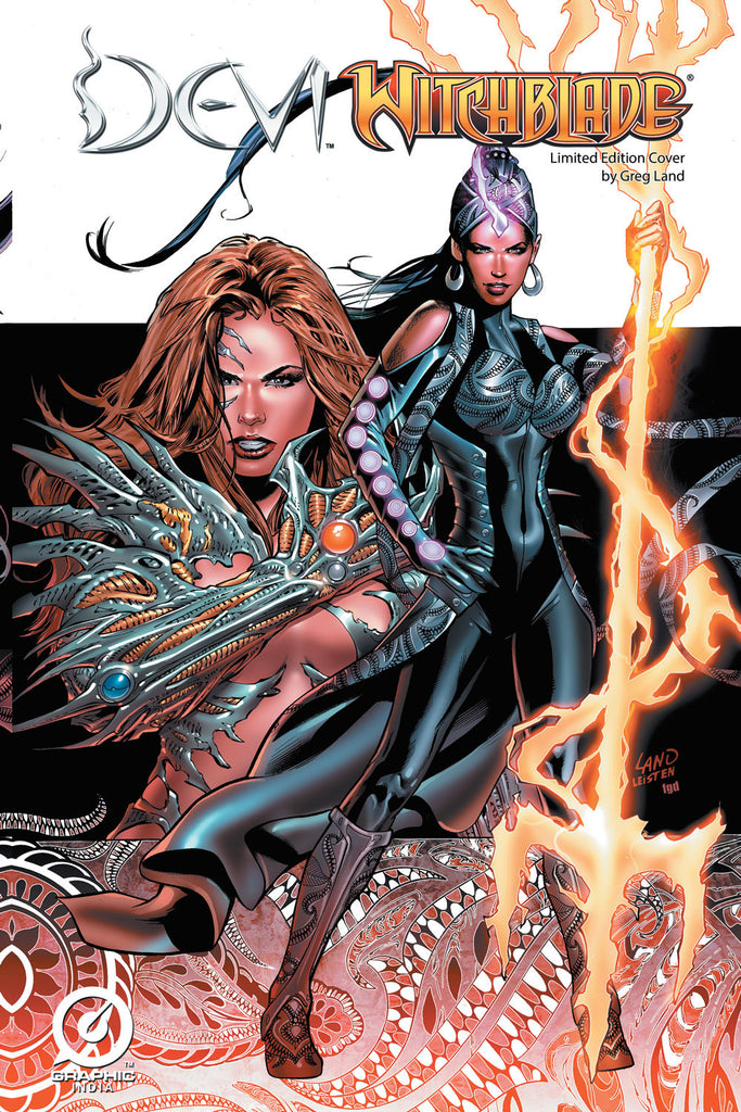 Devi / Witchblade Limited Edition Cover by Greg Land