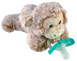 RaZbuddy Paci Holder - JollyPop Pacifier - Marlow Monkey