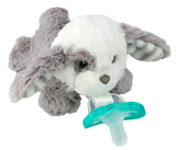 RaZbuddy Paci Holder - JollyPop Pacifier - Palmer Puppy