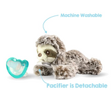 RaZbuddy Paci Holder - JollyPop Pacifier - Sammi Sloth