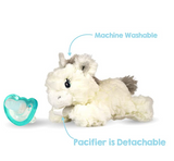 RaZbuddy Paci Holder - JollyPop Pacifier - Luna Unicorn