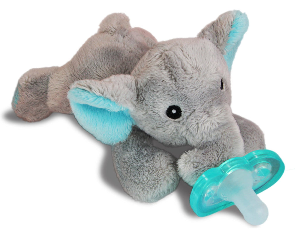 RaZbuddy Paci Holder - JollyPop Pacifier - Elfy Elephant