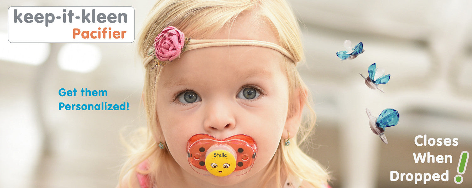 keep-it-kleen personalized pacifiers