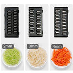 9 in 1 Smart Vegetable Cutter with Drain Basket