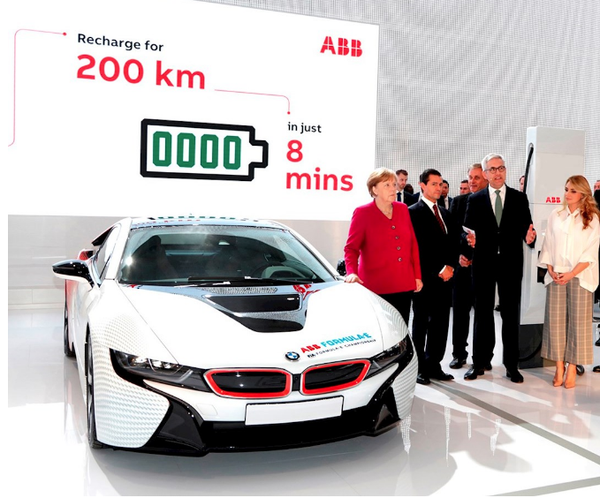 ABB's electric car puts them in Fortune magazine