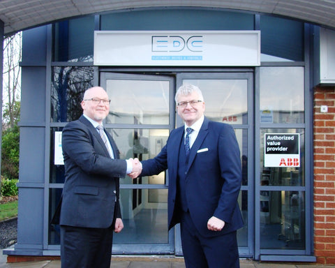 NICK BROWN AT OFFICIAL OPENING OF EDC NE YOUR NORTH EAST DRIVE SPECIALISTS