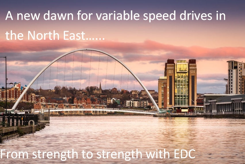 edc launches variable speed drives outlet in north east England