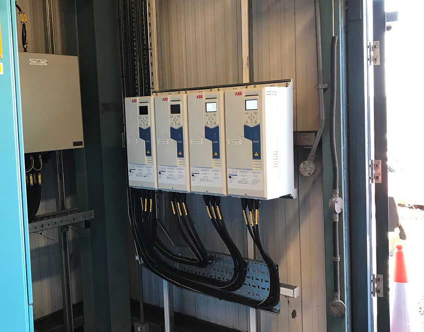 ABB ACQ580 VARIABLE SPEED DRIVES