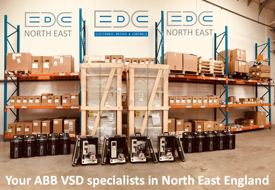EDC north east's extensive drive stock in Gateshead