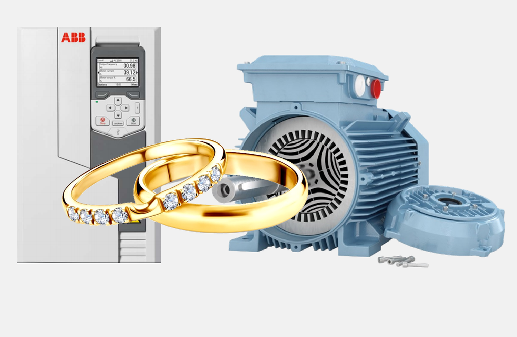 abb drive and SynRM motor packages