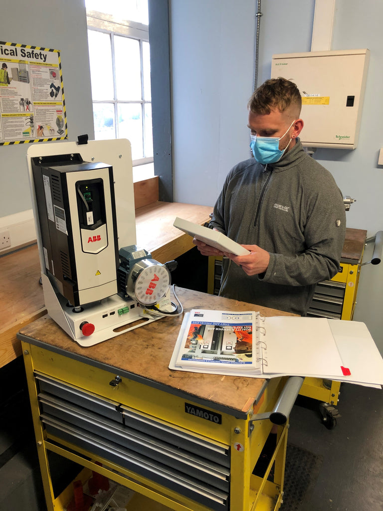 variable speed drive training course from EDC