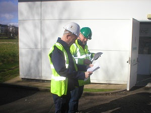 EDC ENGINEER'S PROJECT MANAGING A SITE