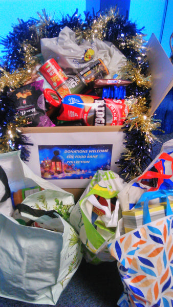 edc food bank donation for Christmas