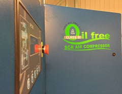 EDC's new range of oil free air compressors
