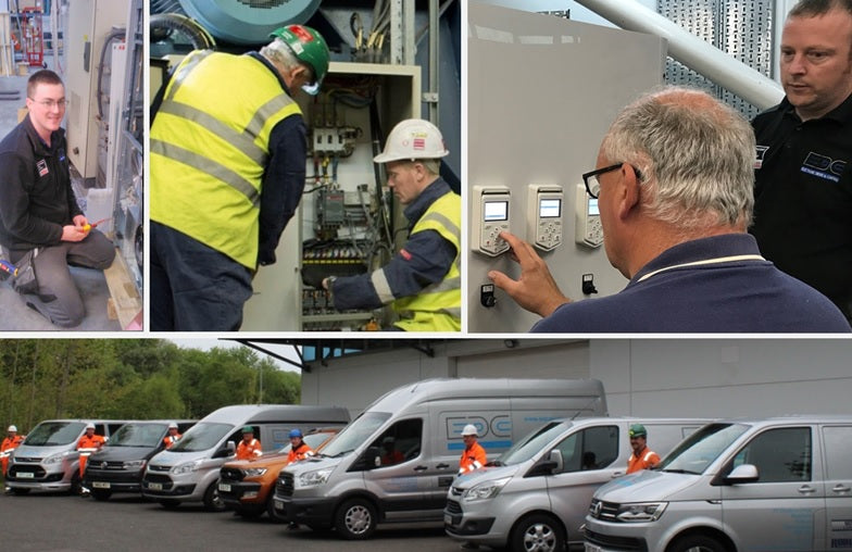vacancy for a service engineer at EDC Scotland, your abb drive value provider