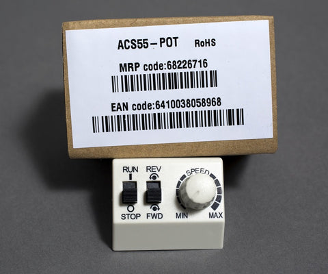 Front Mounted Speed potentiometer for the ACS55 range of inverter drives