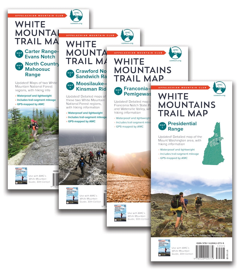 White Mountain National Forest Trail Map Set