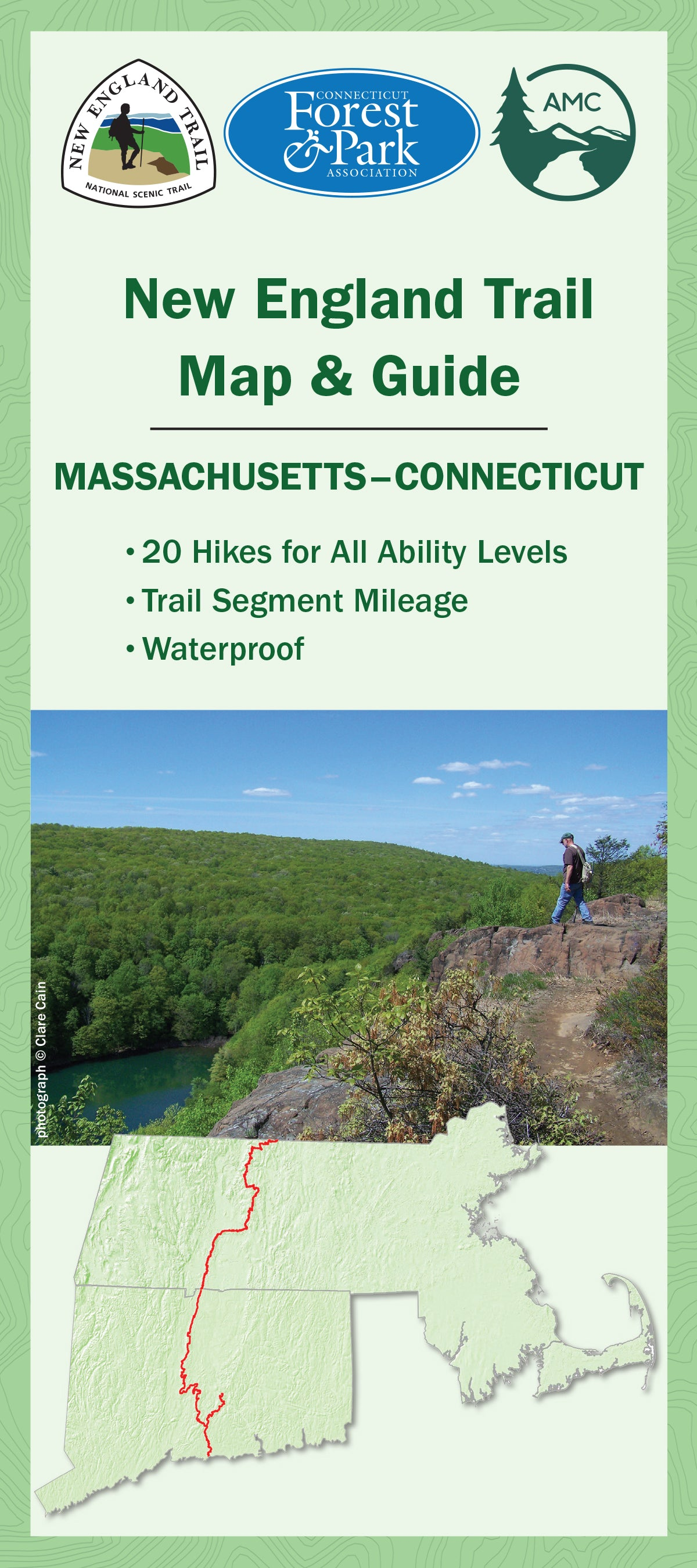 New England Trail Map & Guide