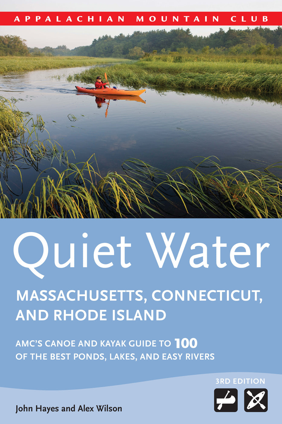 Quiet Water Massachusetts, Connecticut, and Rhode Island, 3rd edition
