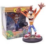NECA Crash Bandicoot with Jet Board  Action Figure