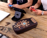 Switch Case Zelda Link Sheikah Slate Travel Storage Bag, Carrying Protector
