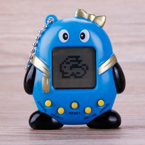Random Color Creative Penguin 90S Nostalgic Tamagotchi Electronic Pet.168 Pets in One