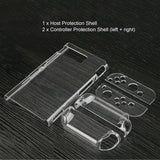 Transparent Crystal Clear Hard Case Shell Cover Protective For Nintendo Switch NS