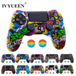 44 Colors Silicone Camo Protective Skin Case For Sony Dualshock 4 PS4, PS4 Pro and Slim Controller