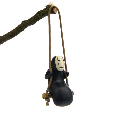 Cute Anime Ghibli Spirited Away No Face Man Action Figure.