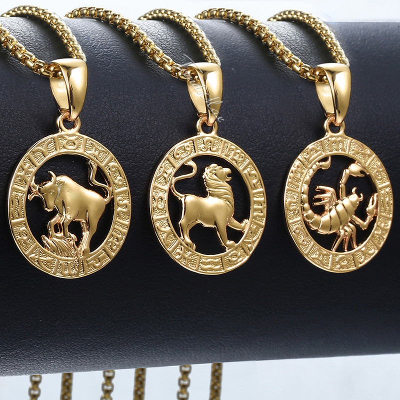 Zodiac Necklace Collection II