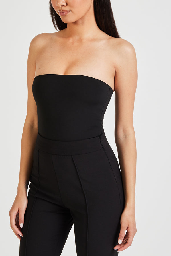 Strapless Bodysuit - Black