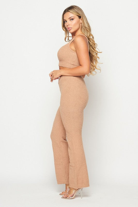 Kimmie Plush Lounge Set
