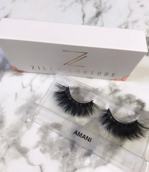 Amani 5D Reusable Mink False EyeLashes