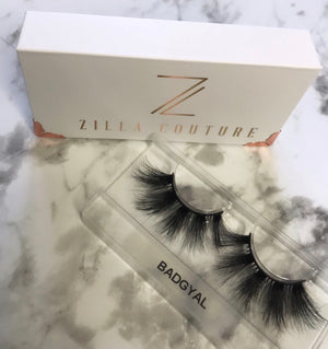 Badgyal 5D Reusable Mink False Eyelashes