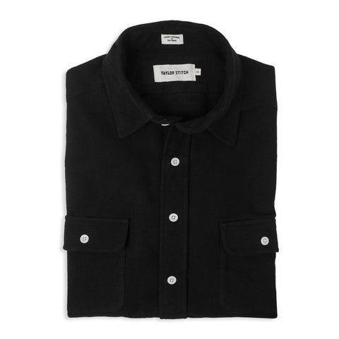 Taylor Stitch - The Yosemite Shirt in Black
