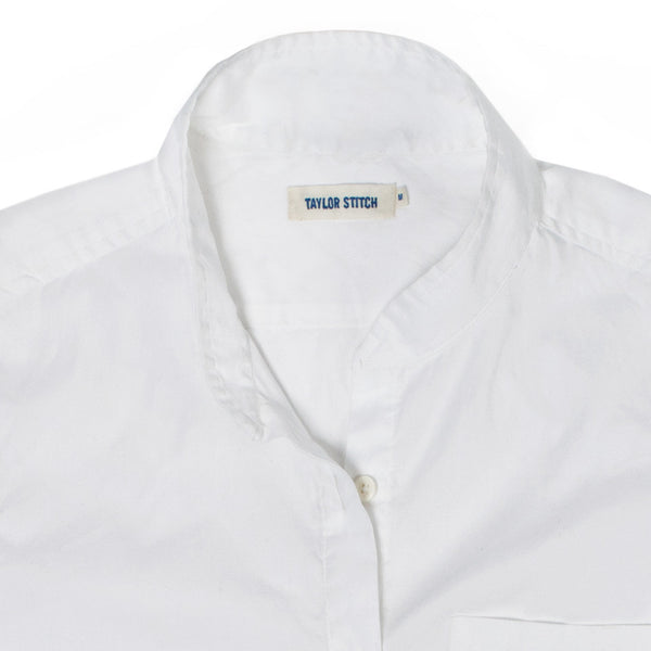 Taylor Stitch - The Caroline in White Chambray