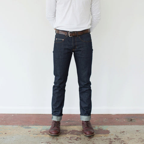 A+W Supply Co. x Billiam Tailored Straight Raw Selvedge Denim