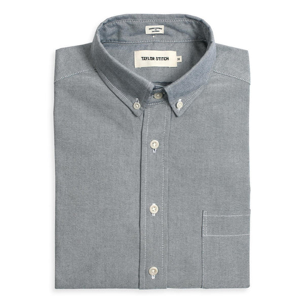 Taylor Stitch - The Jack in Charcoal Everyday Oxford