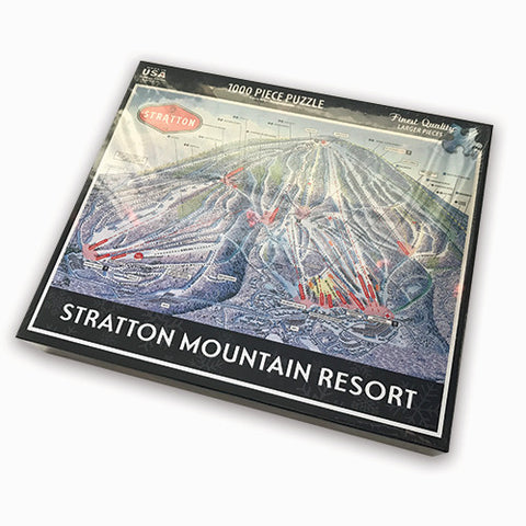 Stratton Trail Map Jigsaw Puzzle