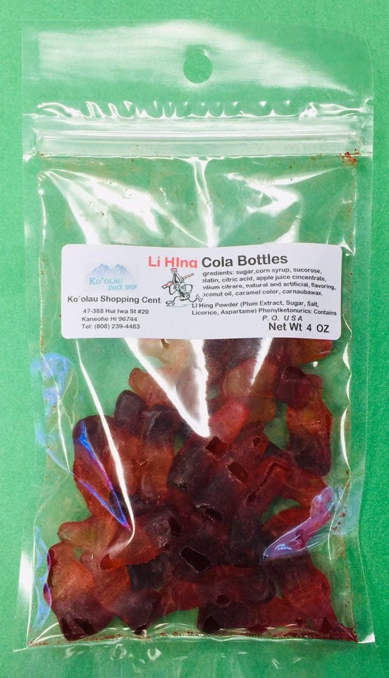 Cola Bottle Gummies - Li Hing