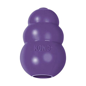 KONG Gentle Natural Rubber Dog Toy - Chew, Chase & Fetch - For Medium Dogs