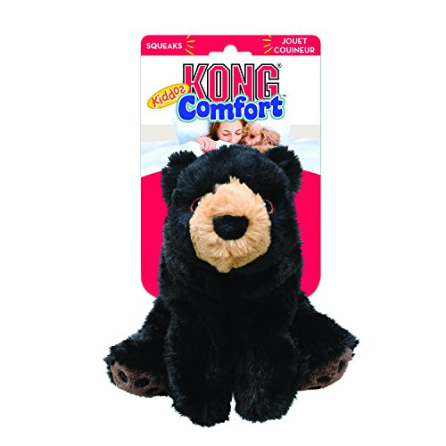 KONG Comfort Kiddos Bear Removable Squeaker Plush & Stuff-A-Ball Treat Toys | Small Dogs